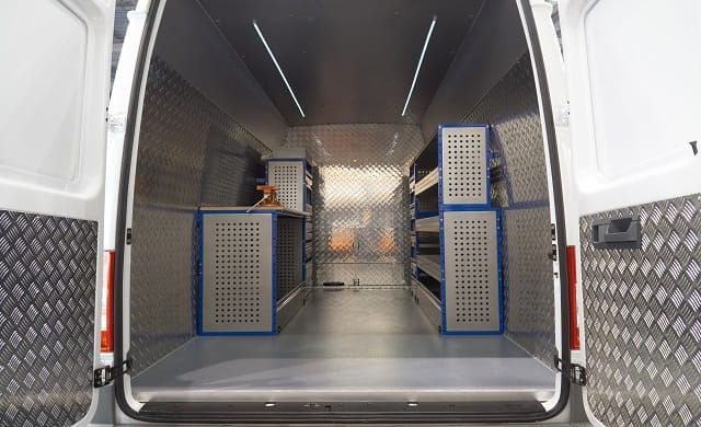2f42c812d1 Fitting out your van with racking and shelving