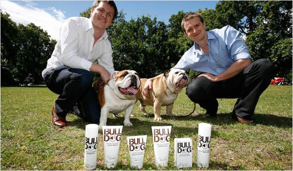 Bulldog Natural Grooming: Simon Duffy and Rhodri Ferrier