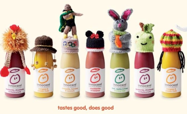Marketing and innocent smoothies