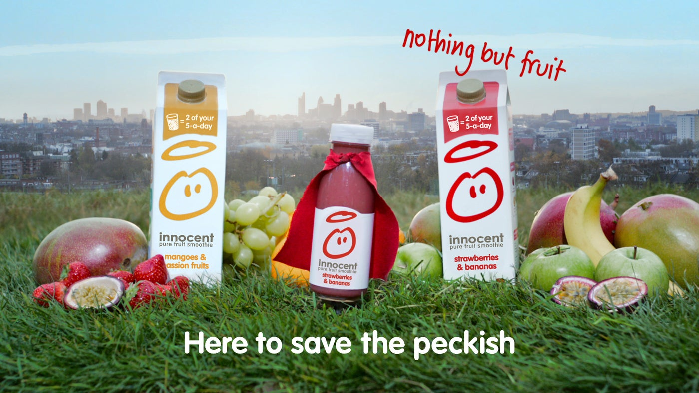 innocent smoothies Innocent products containing more sugar than is healthy you have created a superb vehicle for deliv ering high concentrations of fructose that simply could not be ingested by eating fruit i'm waiting for you to tell me a calorie is a calorie wherever it comes from.