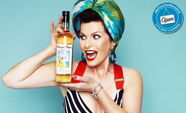 Cleo Rocos, founder of AquaRiva Tequila