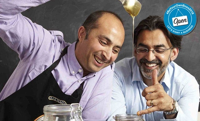 Eat Natural co-founders Praveen Vijh and Preet Grewal