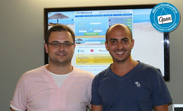 MyTravelMoney.co.uk founders Daniel Abrahams and Stevan Litobac