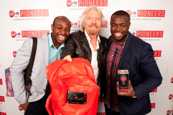 Branson backs theft-proof backpack venture in 'Pitch to Rich' award