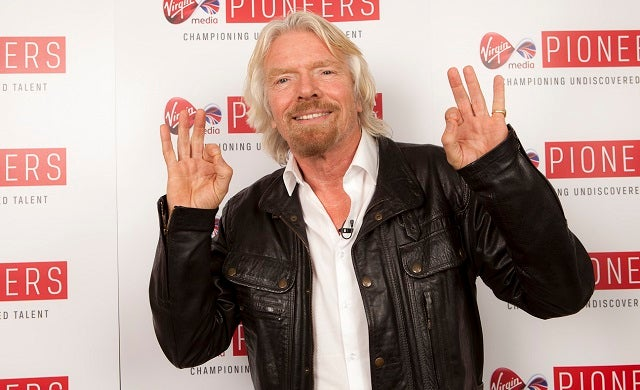 Sir Richard Branson, Julie Deane OBE and Sir Charles Dunstone among UK's top 100 business leaders