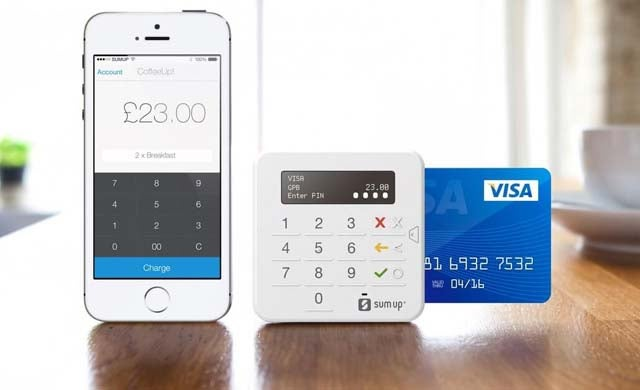 SumUp mobile card payment machine
