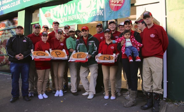 Papa John's ends year on a high with six more UK store openings