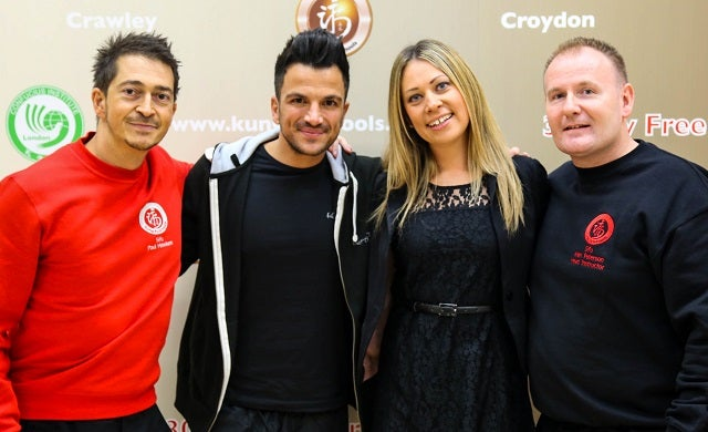 Peter Andre launches Kung-Fu Schools franchise operation