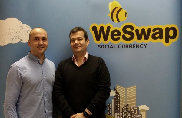 Just Started WeSwap: Simon Sacerdoti and Jared Jesner