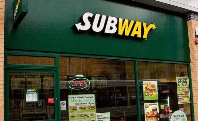 Subway to expand franchise with 1,300 new UK outlets by 2020