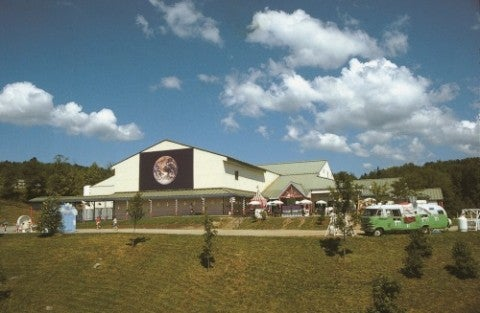Ben and Jerry's factory Waterbury Vermont Exterior