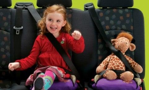 BubbleBum children's car seats Grainne Kelly interview