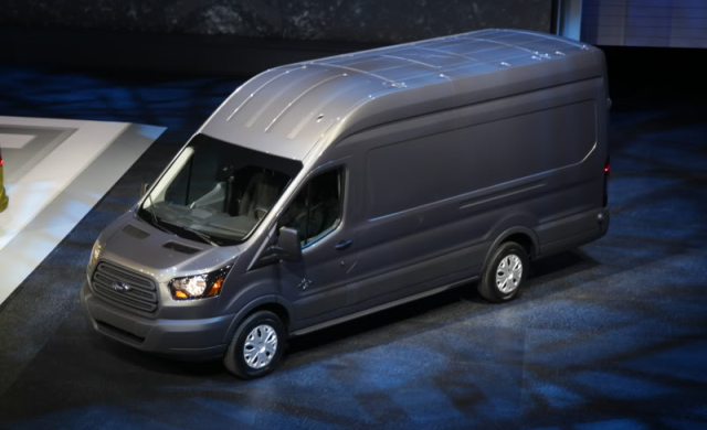 The heavy duty business van: Ford Transit