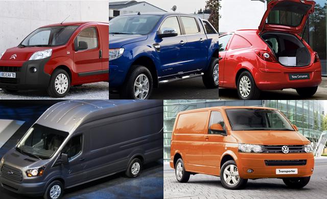 Top 5 commercial vans for under £25,000 in 2014