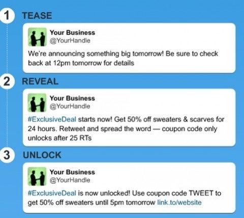 Twitter flock to unlock