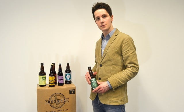 Young entrepreneurs: James Brown, Beer52.com