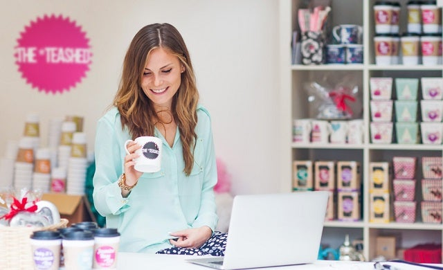 Young entrepreneurs: Jules Quinn, The *Teashed