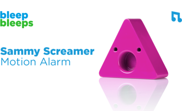Bleep Bleeps secures $90,000 Kickstarter pledge to launch 'Sammy Screamer' motion alarm