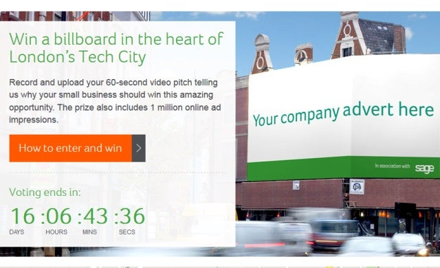 """Start-ups offered chance to appear on billboard in """"the heart"""" of London's Tech City"""