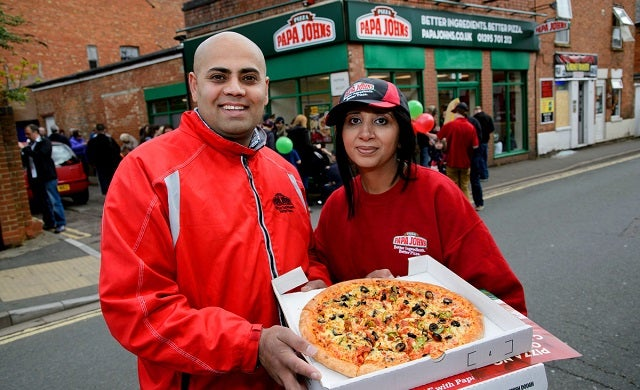 Ambitious Papa John's franchisee opens fourth store