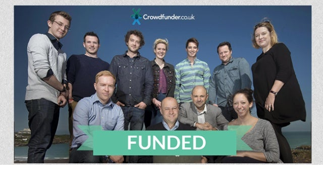 Crowdfunding success stories: Crowdfunder