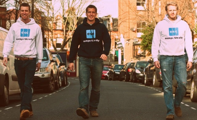 Crowdfunding success stories: Escape the City
