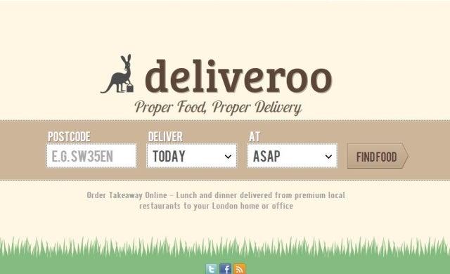 Restaurant delivery platform Deliveroo raises £2.75m to fund international expansion