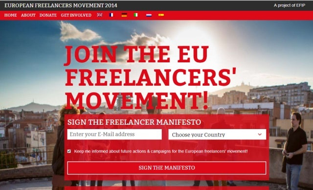 Over 3,000 freelancers petition for European movement to support self-employed