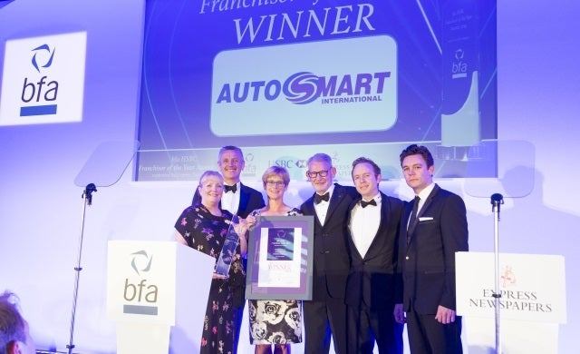 Autosmart wins bfa Franchisor of the Year award