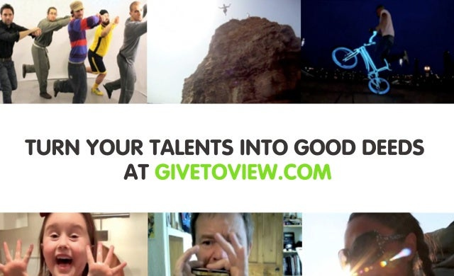 Tech Pitch: GiveToView