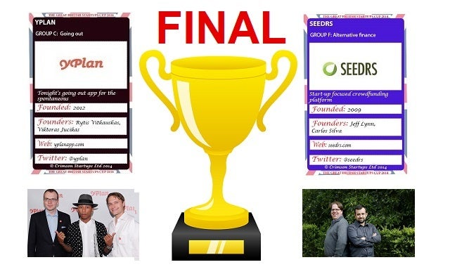 The Great British Startups Cup 2014: The Final