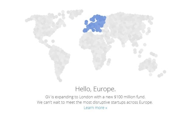 Google launches $100m fund to support European tech start-ups