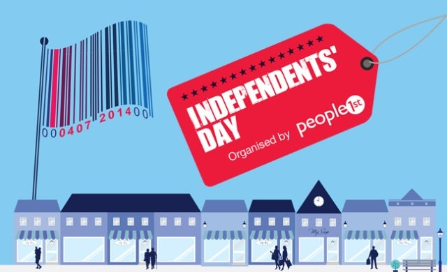 Independent retailers encouraged to get involved with Independents' Day