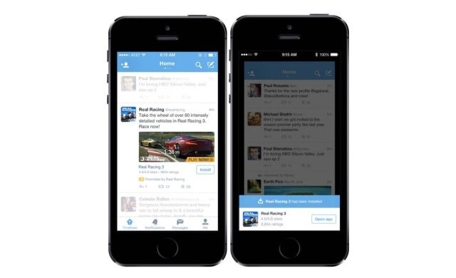 Twitter rolls out mobile app promotion to all users