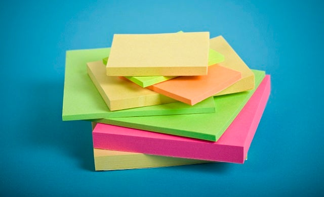 Business ideas that changed the world: The Post-it note