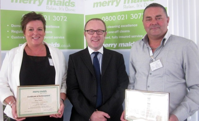 Merry Maids welcomes franchise couple following resale opportunity