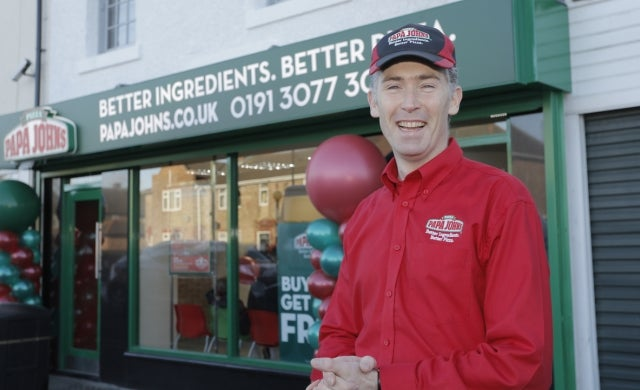 Papa John's franchisee opens seventh store in seven months