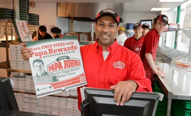 Former business owner launches Papa John's franchise venture