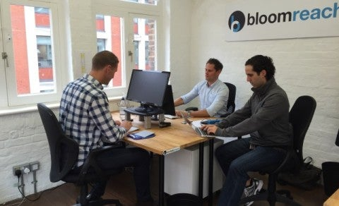 BloomReach's new Covent Garden offices