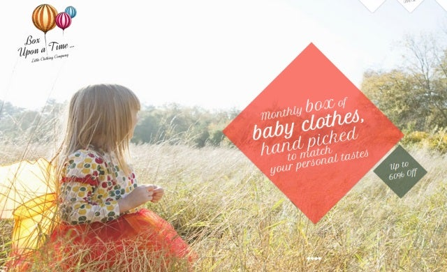 Box Upon Time secures £160,000 to improve baby clothing 'taste forecasting'