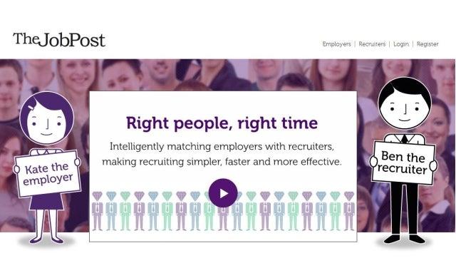 """Recruitment crowdsourcing"" platform TheJobPost raises £600,000"