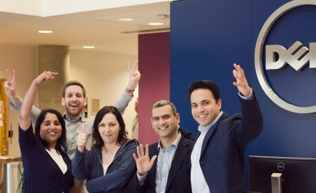 When a start-up meets a multinational: What's it like being a start-up in residence at Dell?