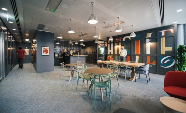 US workspace provider WeWork opens first UK co-working office in South Bank