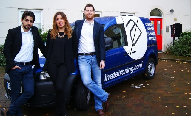 Laundry start-up ihateironing.com bags £120,000 investment