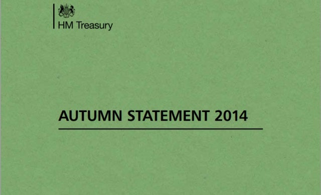 Read the Autumn Statement 2014 here