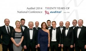 "Auditel celebrates 20 years in business and awards ""outstanding"" franchisees"