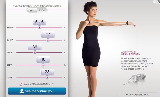 Tech trends for 2015: The virtual fitting room