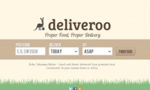 Two year-old food delivery start-up Deliveroo bags £16.5m