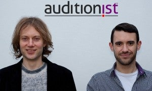 Auditionist: Will Crosthwait and Ben Albahari