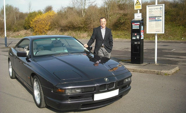 Entrepreneurs' cars: BMW 840